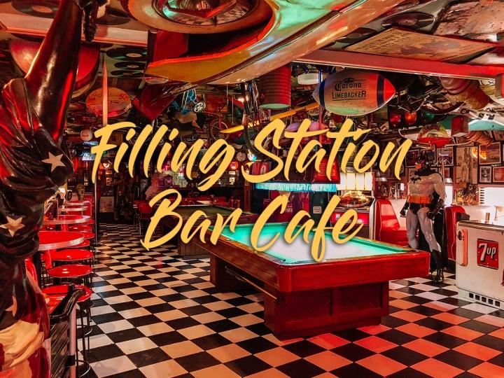 Filling Station Bar Cafe: 1950s Diner inMakati