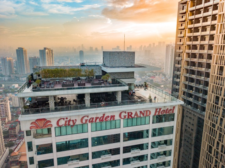 City Garden GRAND Hotel: A Hotel on the Rise at TripAdvisor