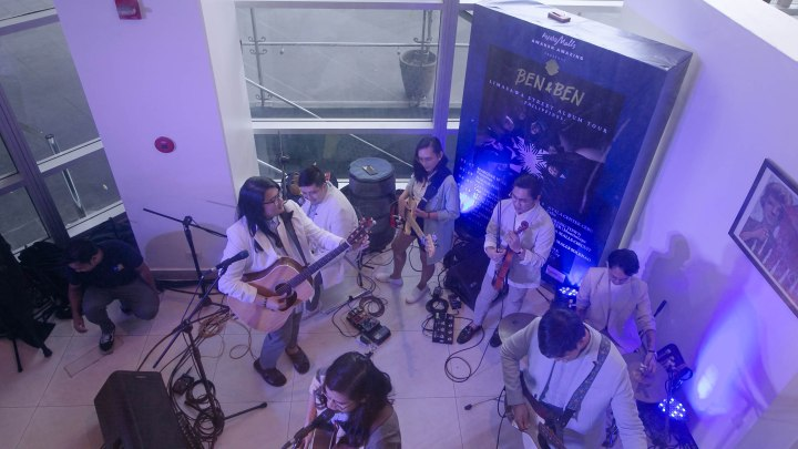 This image has an empty alt attribute; its file name is benben-limasawa-street-album-launch-17.jpg